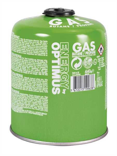 Optimus Gas Schraubkartusche 440g