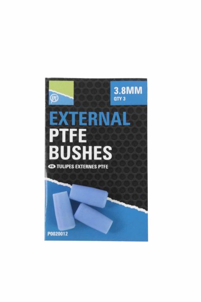 Preston External PTFE Bushes - 3.8mm