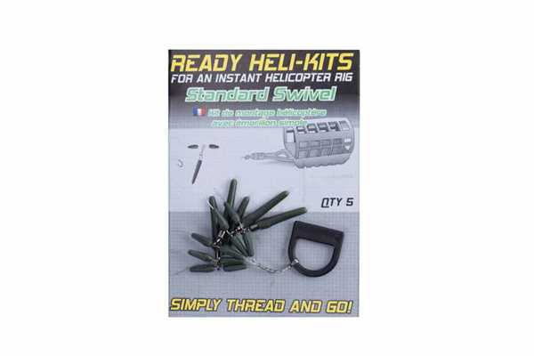 Korum Ready Heli-Kits - Standard Swivel