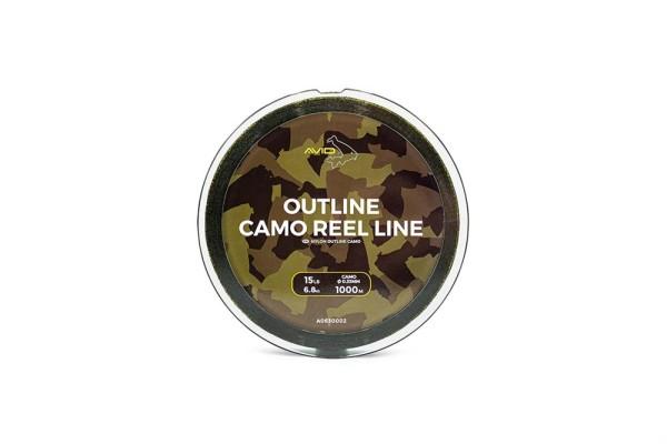 Avid Carp 1.000m Outline Camo Reel Line 0.33mm 15lb