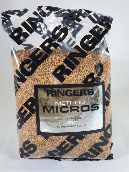 Ringers Method Micros Pellets 900g