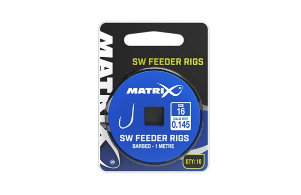 Matrix 1m SW Feeder Rigs Size 16/0.145