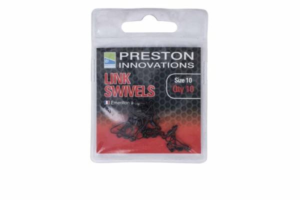 Preston Link Swivels - Size 8