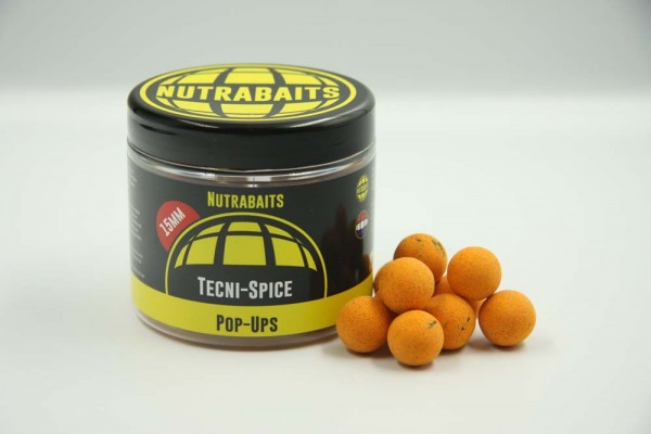 Nutrabaits Tecni-Spice Pop-Ups 16mm
