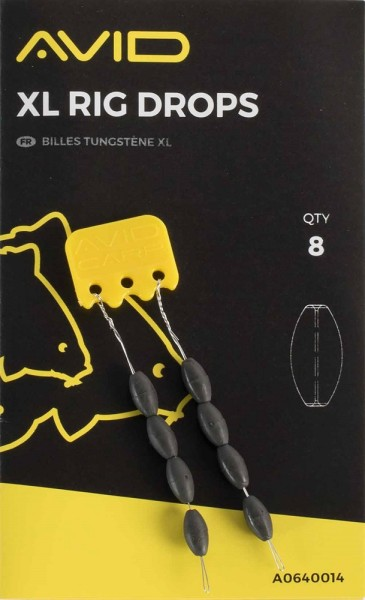 Avid Carp Outline XL Rig Drops