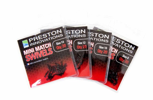 Preston Mini Match Swivels