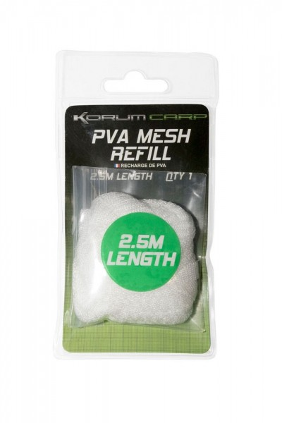 Korum PVA Mesh with Boilie Cutter Refill