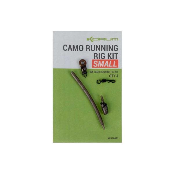 Korum Camo Running Rig Kit Small