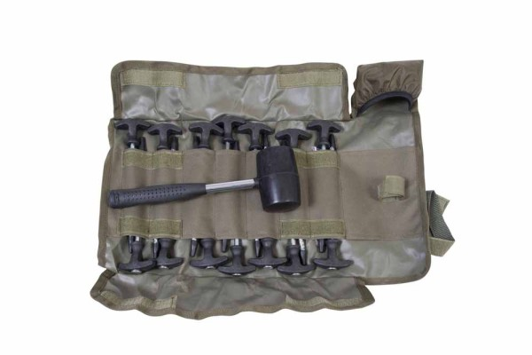 Avid Carp Supertough Bivvy Peg - Mallet Set