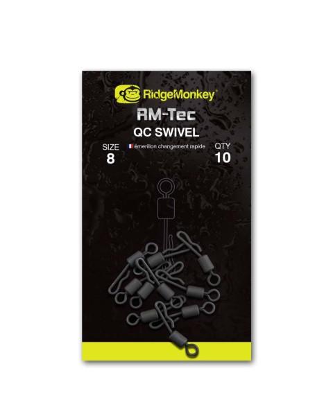RidgeMonkey RM-TEC Quick Change Swivel Size 8
