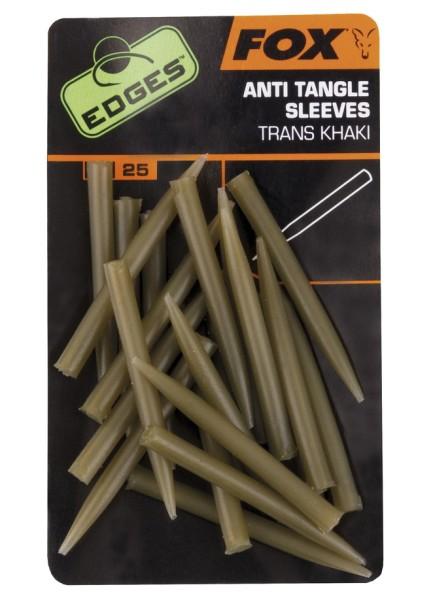 Fox Edges Anti Tangle Sleeves - Trans Khaki