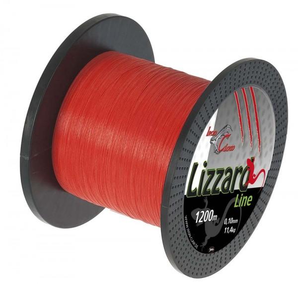 Iron Claw Lizzard Line 0,03 1200m Orange