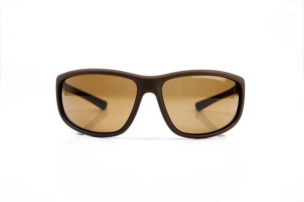 RidgeMonkey Pola-Flex Sunglasses - Dark Bronze