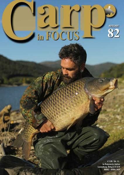 Carp in Focus Zeitschrift Ausgabe 82