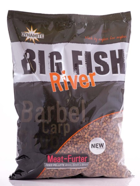 Dynamite Baits B.F.R. Feed Pellets Meat-Furter 1,8kg Mixed