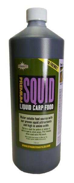 Dynamite Baits Liquid Carp Food Squid 1L