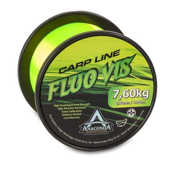 Anaconda Fluovis Carp Line 1.200m/0,30mm