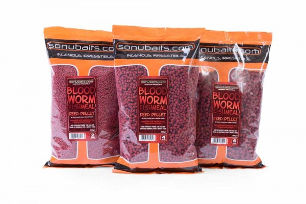 Sonubaits Bloodworm Fishmeal Feed Pellet