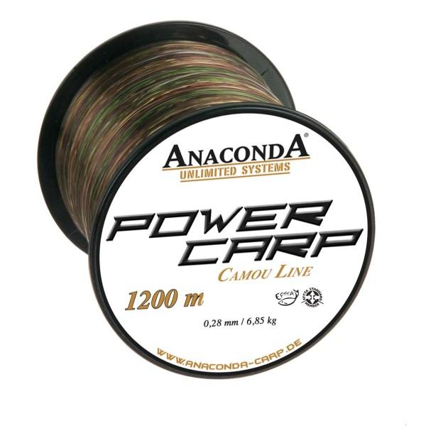 Anaconda Power Carp Camou Line 0,32mm 9.25kg 1200m