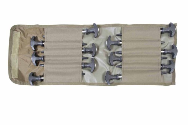 Avid Carp Superlite Bivvy Peg Set