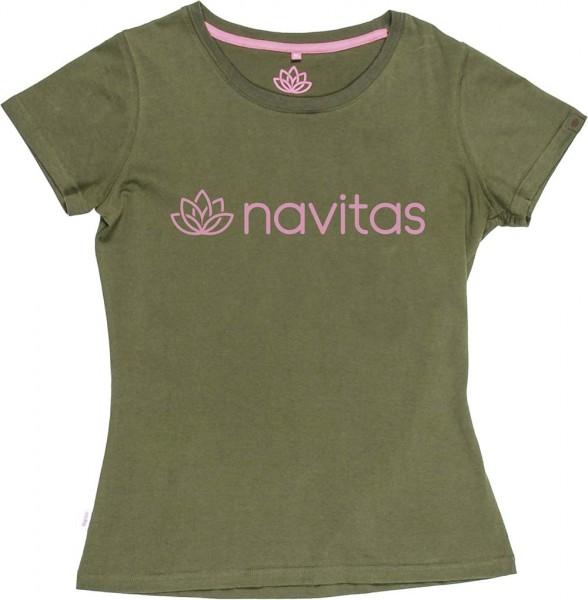 Navitas NTTT4818 Womens Tee green Gr. XL