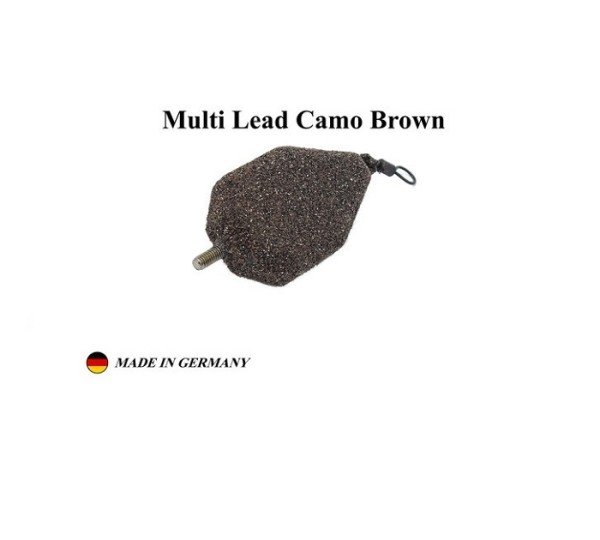 Poseidon Multi Lead 85g - 3.00oz Camo Brown