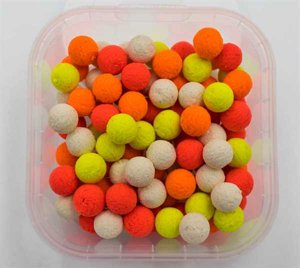 AngelHAACK Bait Range Rainbow Pop-Up Mix 10mm 50g - Hot Sausage