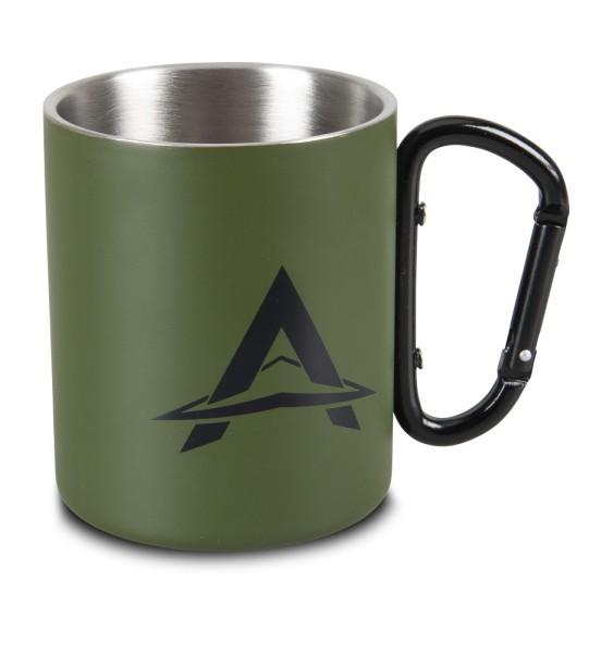 Anaconda Carabiner Mug 300ml Stainless Steel