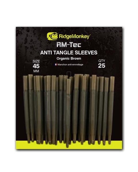 RidgeMonkey RM-TEC Anti Tangle Sleeves Organic Brown Long