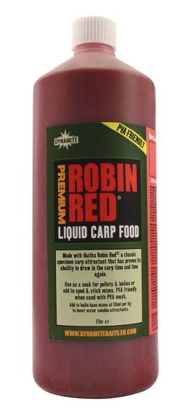 Dynamite Baits Liquid Carp Food Robin Red 1L