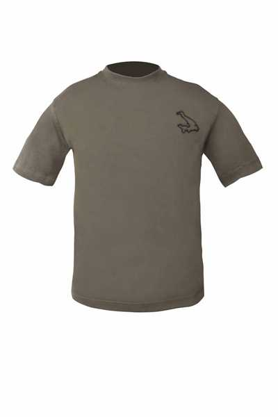 Avid Carp Olive Green T-Shirt - Medium