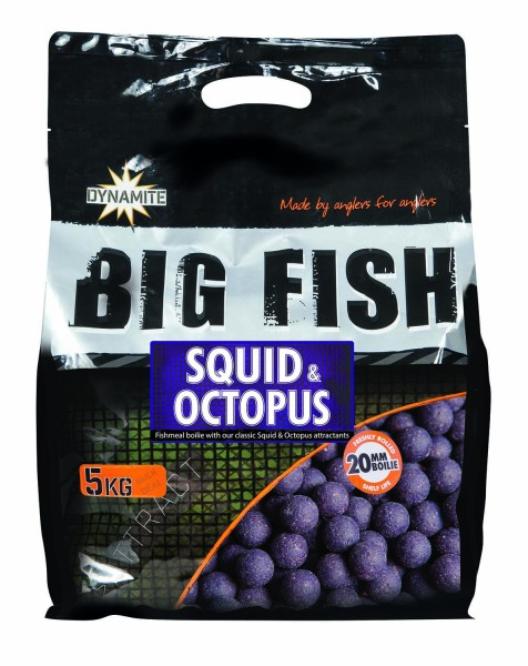 Dynamite Baits Squid & Octopus 5kg 15mm