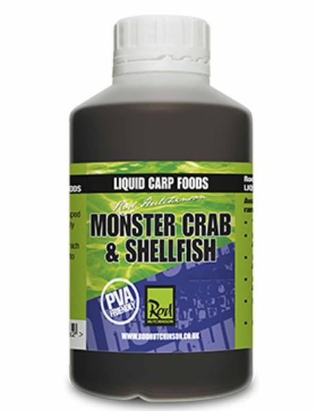 Rod Hutchinson Monster Crab & Shelfish Liquid Carp Food 500ml