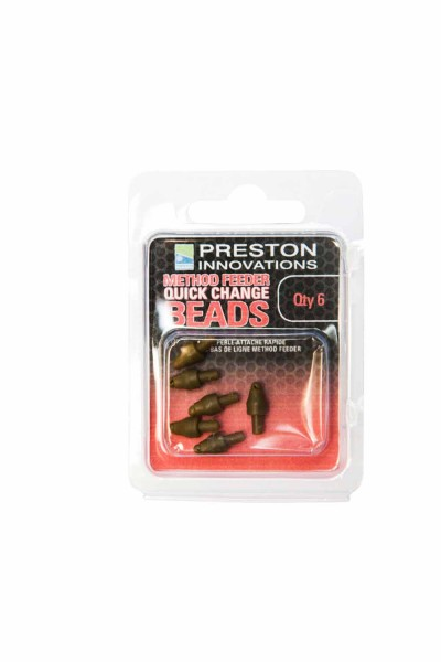 Preston Method Feeder Quick Change Bead