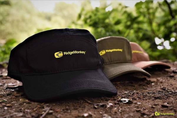 RidgeMonkey 5 Panel Cap Brown