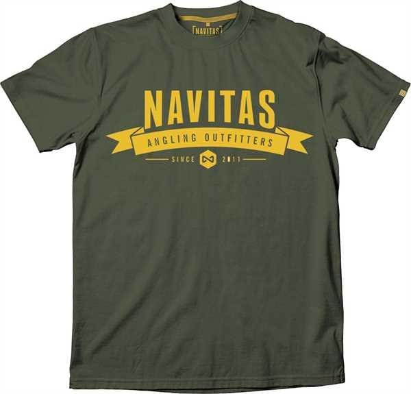 Navitas NTTT4808 Outfit.Tee green Gr.2XL