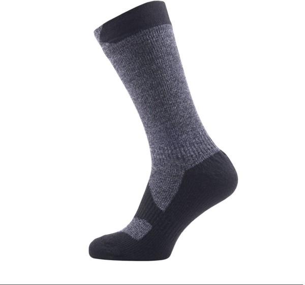 Sealskinz Walking Thin Charcoal Socks 39-42