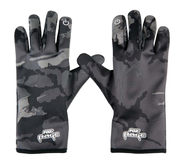 Fox Rage Thermal Camo Gloves M