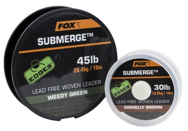 Fox Submerge Lead Free Leader Brown 35lb 10m