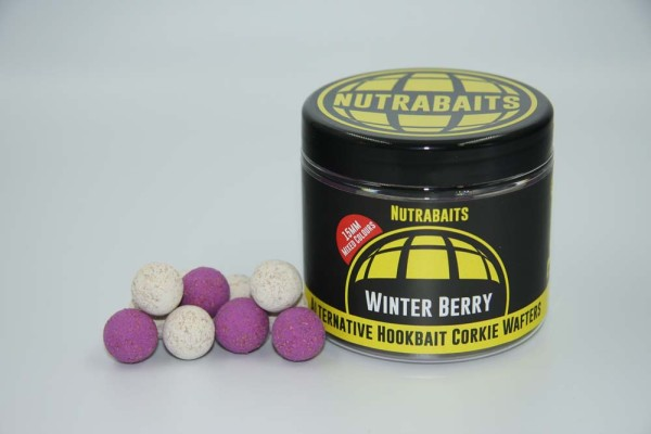 Nutrabaits Winter-Berry Hi-Attract Corkie Wafters 15mm