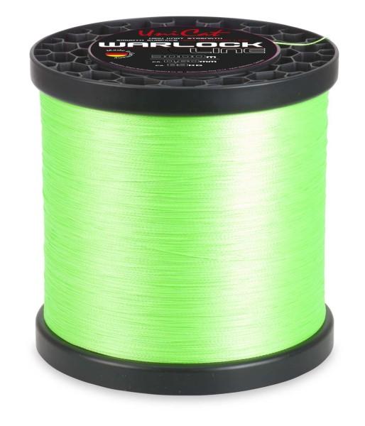 Uni Cat Warlock Line leuchtgrün 0,55mm 62kg 5000m