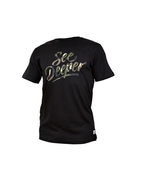 Fortis T-Shirt See Deeper - Black - Medium