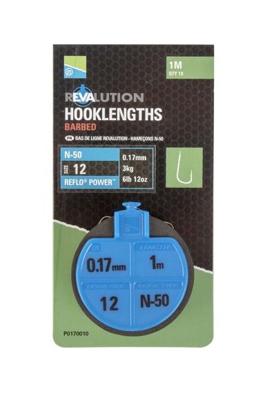 Preston Revalution Vorfach N50 - Sz10 0,17mm