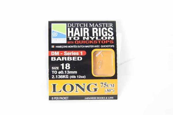 """Preston Dutch Master Hair Rig - Long 30"""" - Size 12"""
