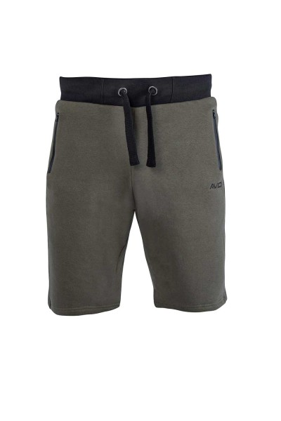 Avid Carp Khaki Jogger Shorts Large