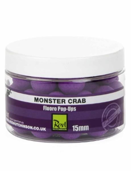 Rod Hutchinson Fluoro Pop Ups Monster Crab with Shellfish Sense Appeal 15mm