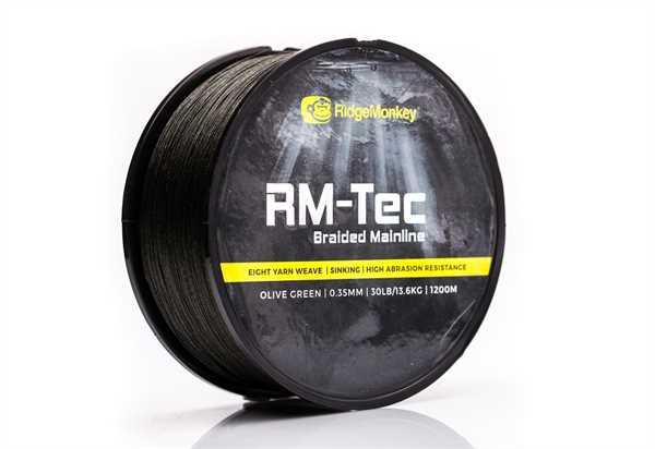 RidgeMonkey RM-TEC Braid 1200m 30lb