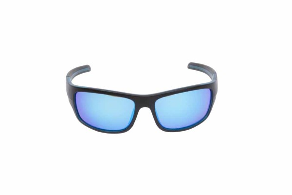 Preston Polarised Sunglasses - Blue - Blue Lens