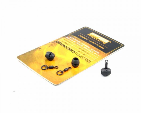 PB Products DT Naked Chod Bead 0,75g & Ring Swivel size 11 3pcs