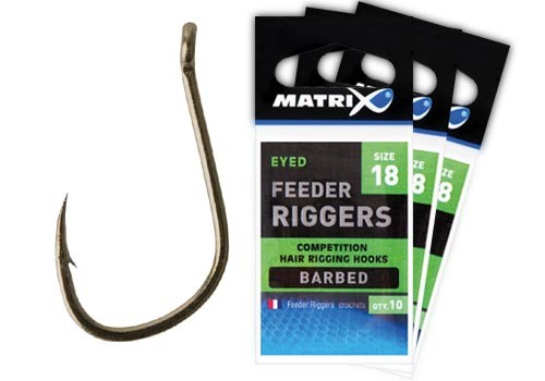 Matrix Feeder Rigger Hooks Größe 16